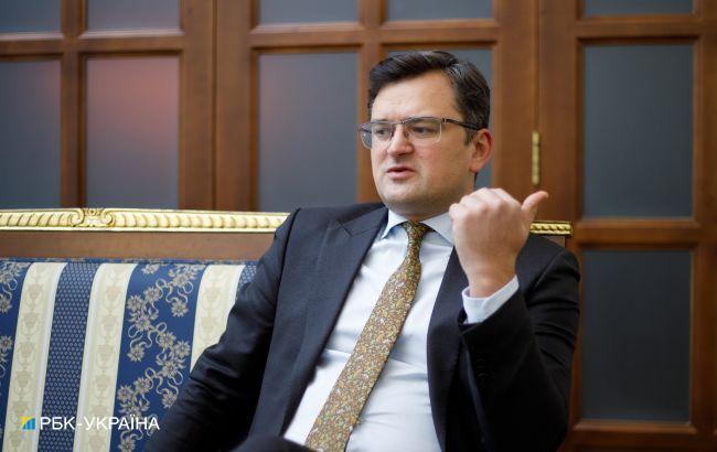 Кулеба: я пока против любых экономических санкций против Беларуси