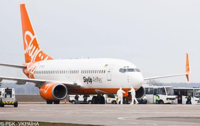 На авиакомпанию SkyUp подали в суд из-за долгов почти на 40 млн грн