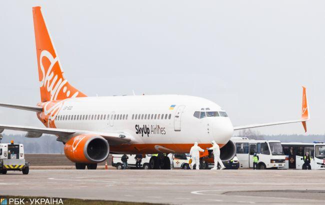 SkyUp запускает рейсы из Украины в Британию