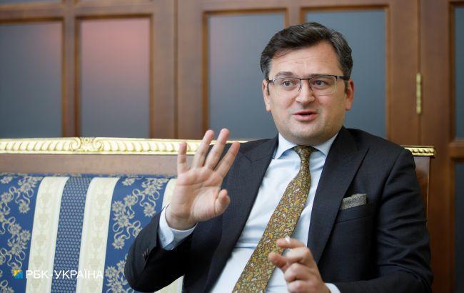 Кулеба: сейчас не стоит ожидать новых секторальных санкций против России