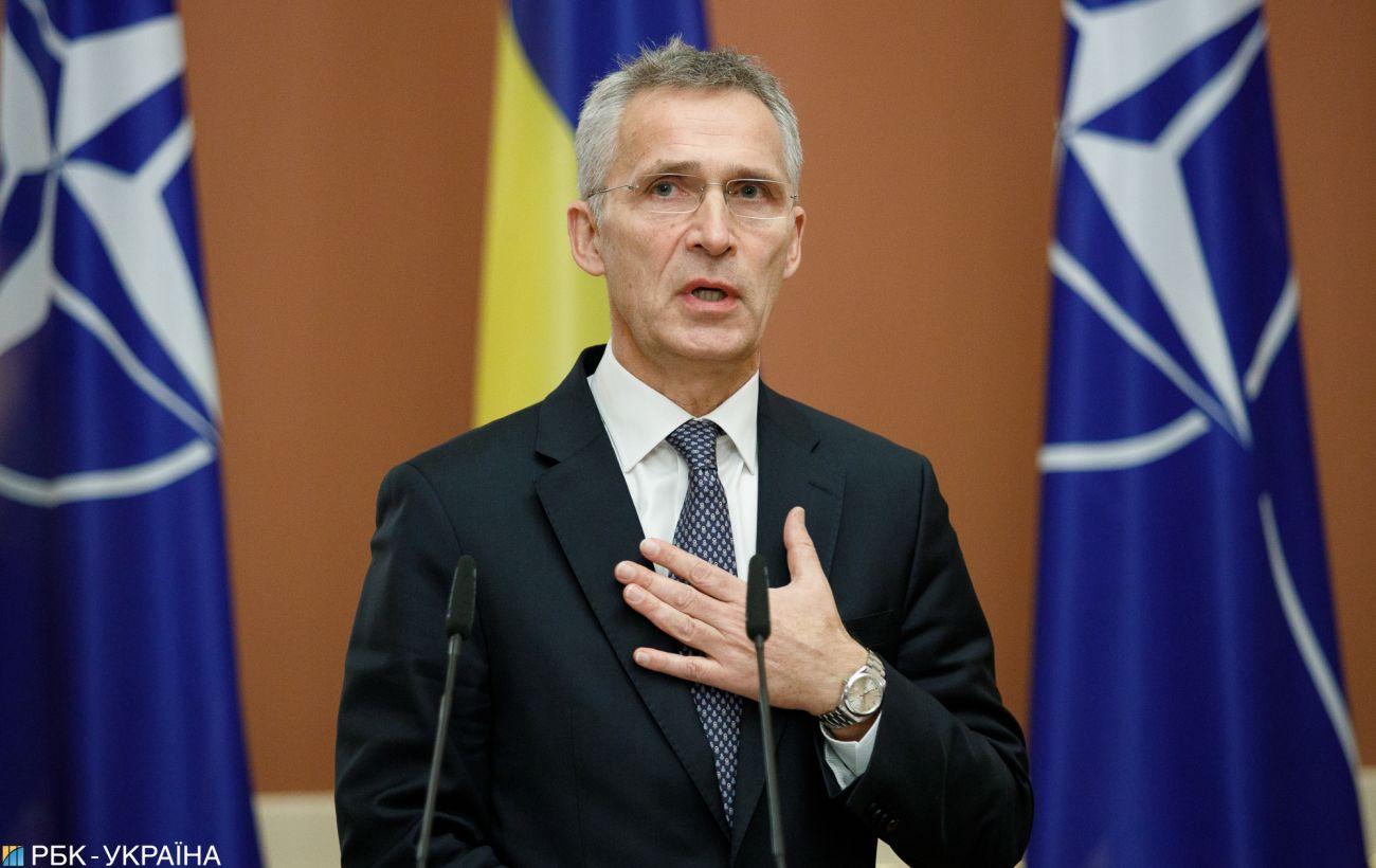 Генсек НАТО завтра примет в Брюсселе главу МИД Украины