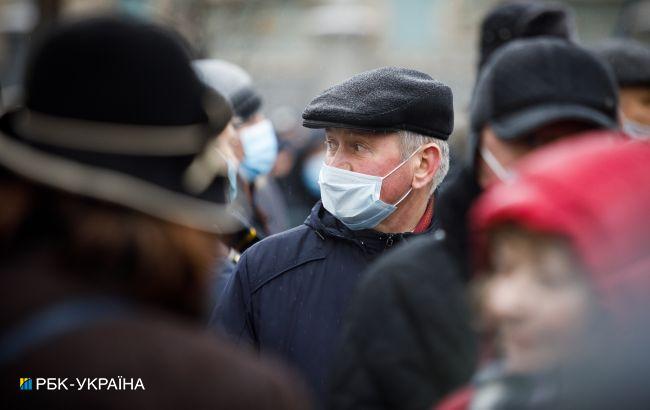 Понад 80% померлих від COVID-19 в Україні - люди віком від 60 років
