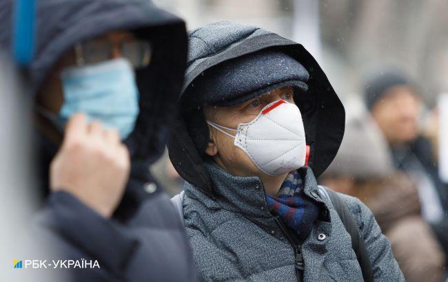 В Украине заболеваемость COVID-19 превышает норму более чем в 7 раз