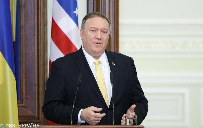 Помпео и Маас договорились о поддержке Украины в условиях агрессии РФ