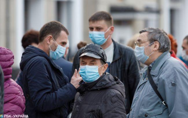 В Украине фиксируют уменьшение количества новых случаев COVID-19