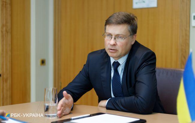 Валдис Домбровскис: Сейчас нет консенсуса по дальнейшему расширению Евросоюза