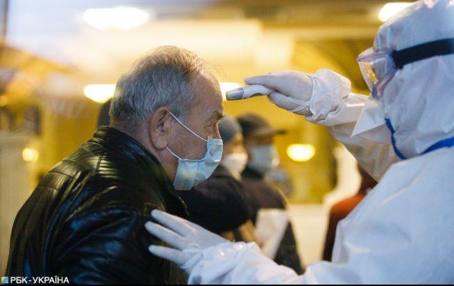 В Киеве ввели обязательную проверку температуры при въезде
