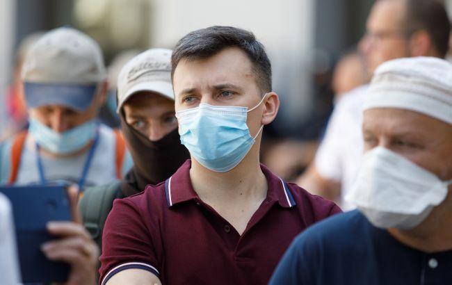 В Украине значительно вырос показатель заболеваемости COVID-19