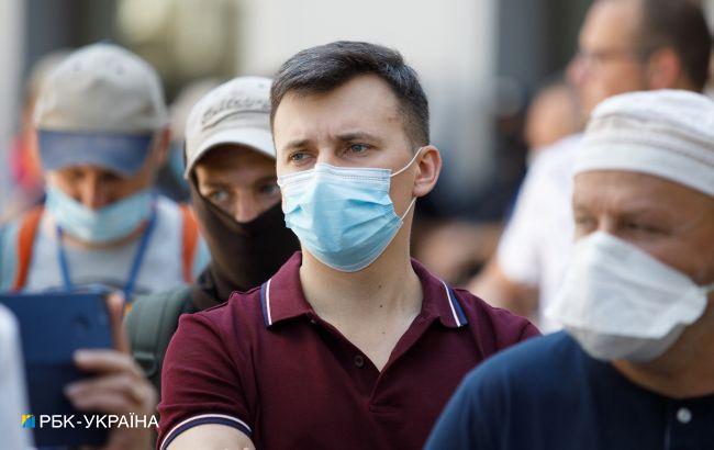 """В одной области Украины эпидпоказатели не соответствуют """"зеленой"""" зоне"""