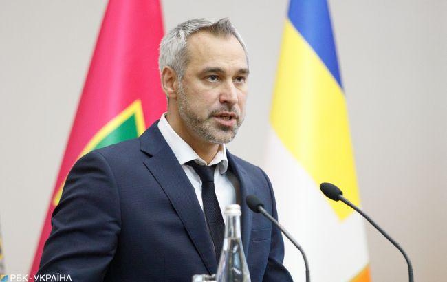 Рябошапка анонсував передачу до суду справи Гладковського