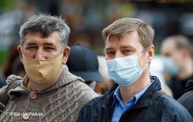 Лишь в трех областях Украины не превышен уровень заболеваемости коронавирусом