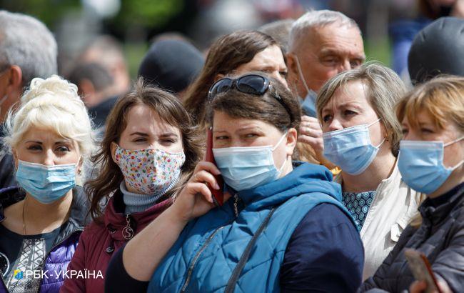 В Украине лишь в одной области превышен показатель по COVID-19