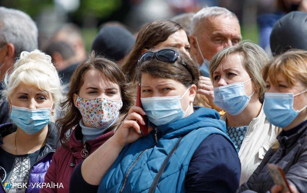Рост случаев: в Украине 1014 новых случаев коронавируса