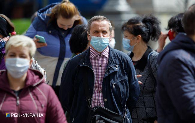"""В Украине одна область остается в """"оранжевой"""" зоне карантина"""