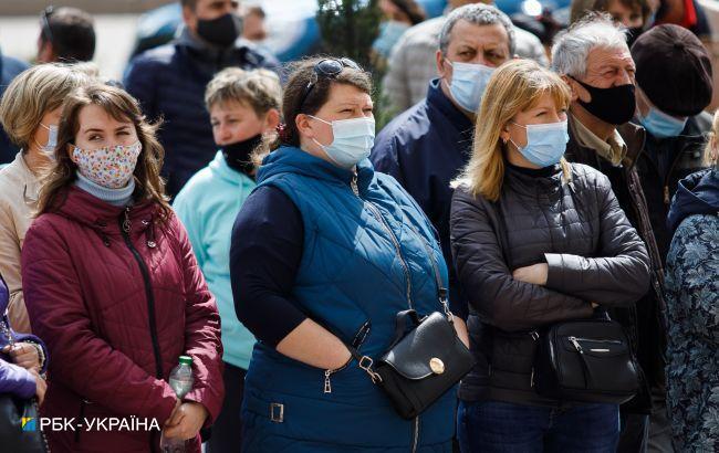 """Четыре области Украины соответствуют """"оранжевой"""" зоне, - Минздрав"""