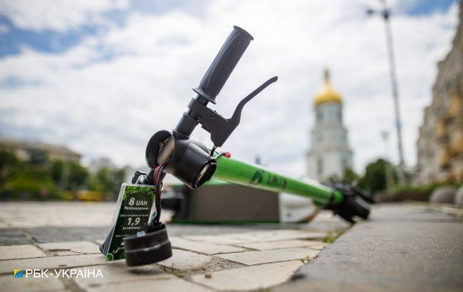 В Украине впервые наказали за наезд электросамокатом: дали год и оштрафовали