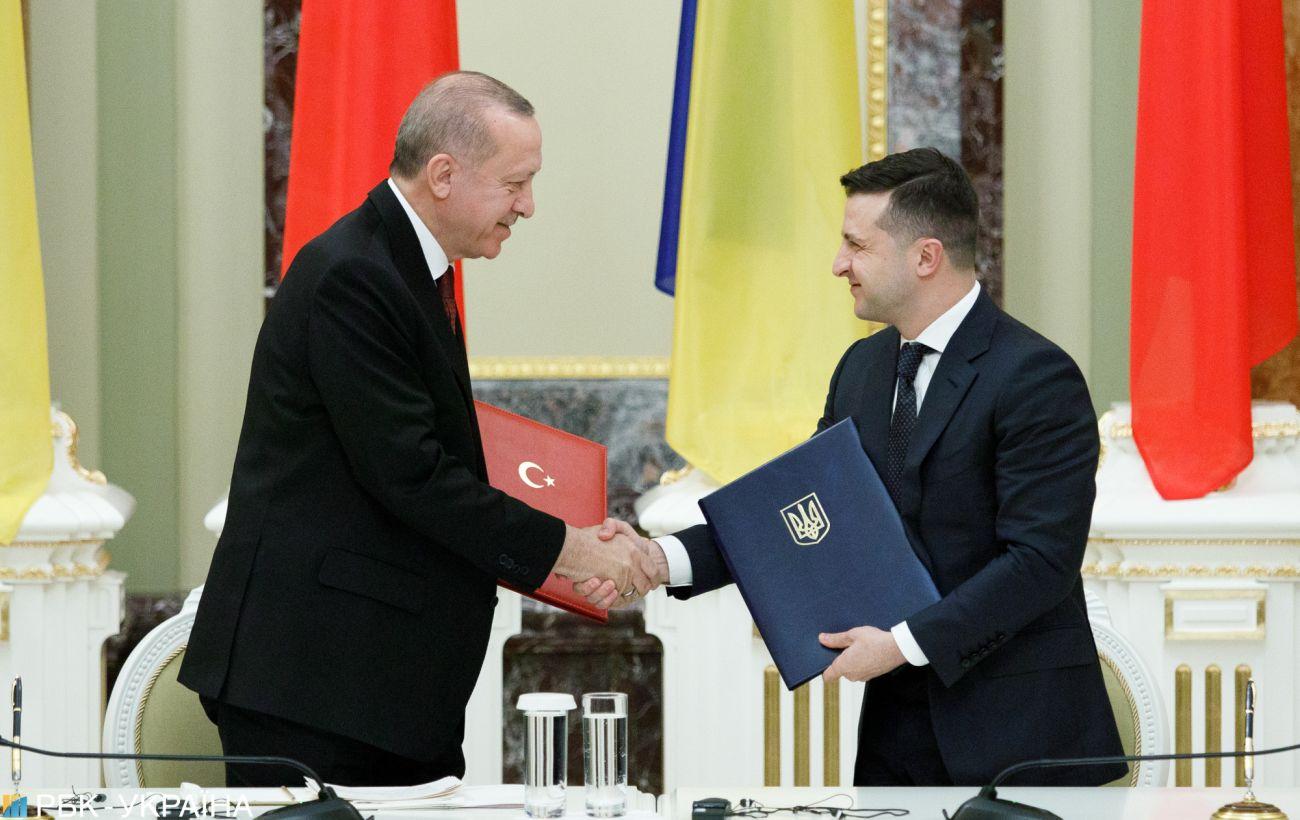 Переговоры Зеленского с Эрдоганом: о чем договорились президенты