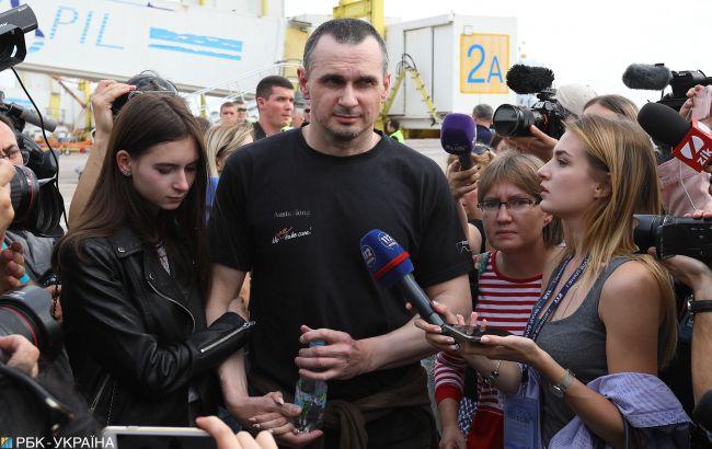 Сенцов: питання політичного майбутнього залишається відкритим