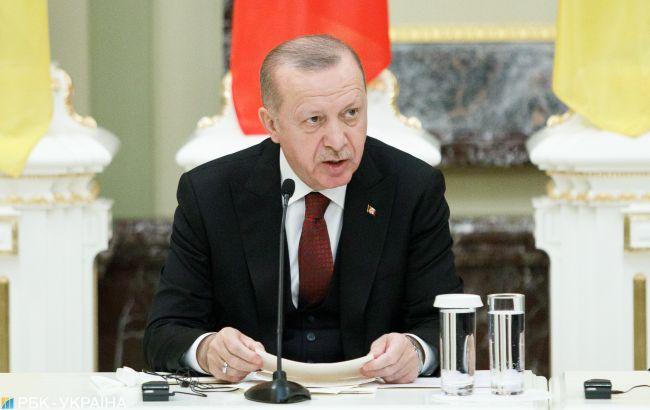 Ердоган і Столтенберг обговорили загострення на тлі стягування військ РФ до України