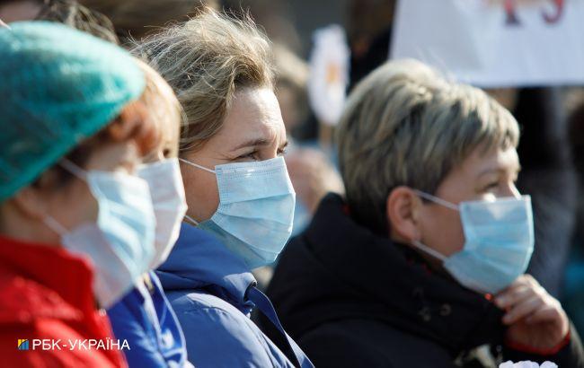 В Украине 8940 новых случаев коронавируса
