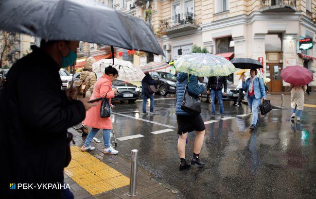 Украину сегодня снова накроют дожди с грозами: прогноз синоптиков на пятницу