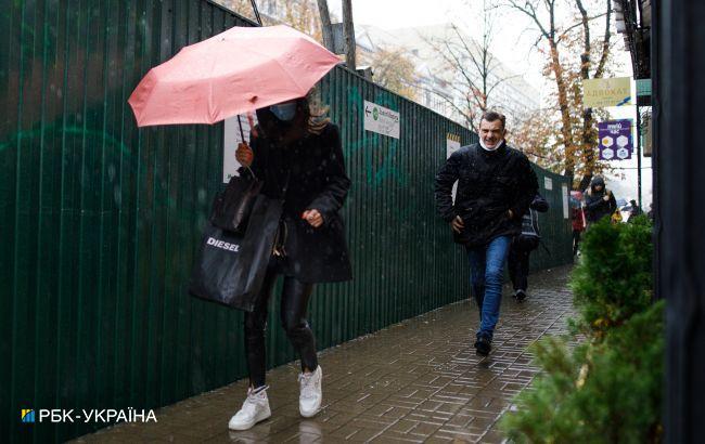 В Украину идет новая волна дождей и похолодание