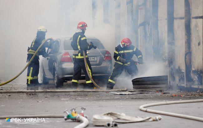 У Львові горів готель. Відвідувачів евакуювали, обійшлося без жертв