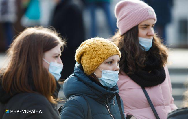 За добув Україні17 463 нових COVID-випадків