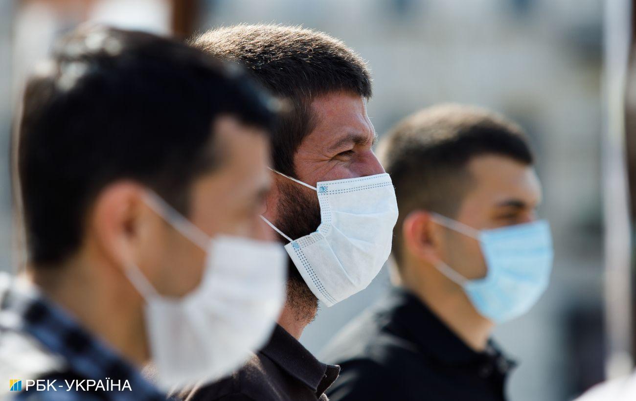 """В трех областях Украины показатели эпидопасности не соответствуют """"зеленой"""