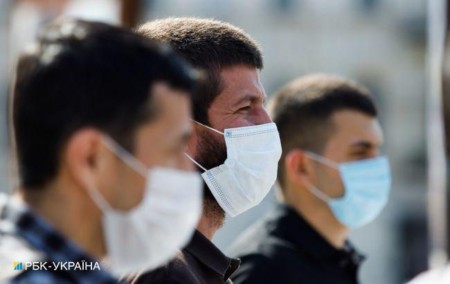 """В трех областях Украины показатели эпидопасности не соответствуют """"зеленой"""" зоне"""