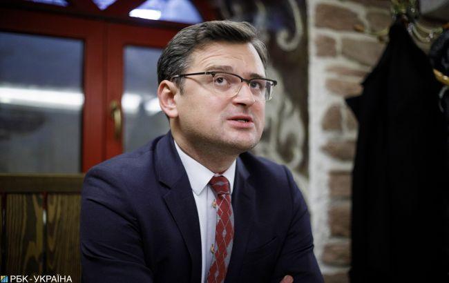 Кулеба назвал условия для проведения выборов в ОРДЛО