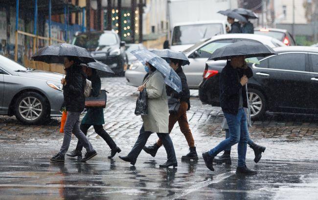 В Украину идут похолодание и дожди