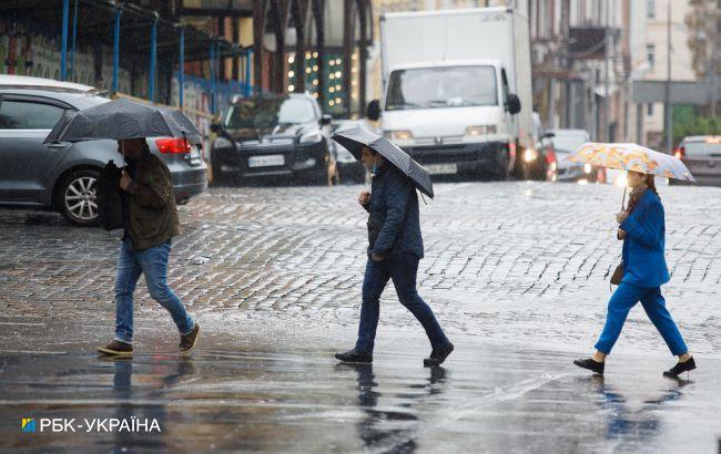 Сьогодні Україну накриють дощі