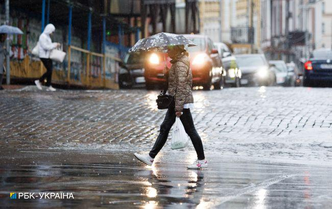 Київ накриє гроза, в інших регіонах - град і шквали