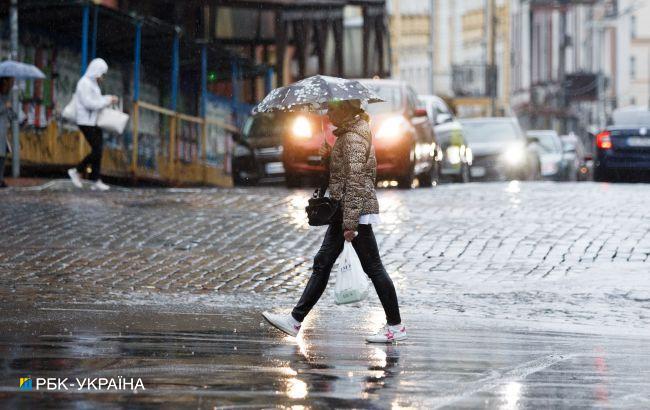 В Україну йде сезон дощів з мокрим снігом: синоптики розповіли про погоду в березні
