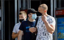 """Киев и 12 областей все еще отвечают """"красной"""" зоне карантина"""
