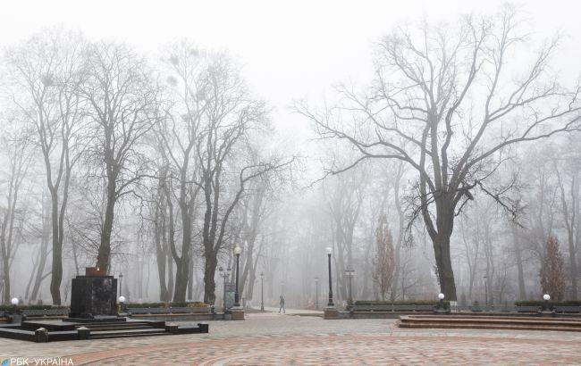 """В Україні мокрий сніг в шістьох областях, але """"плюсова"""" температура"""