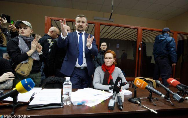 У сутичках в суді по Кузьменко є постраждалий