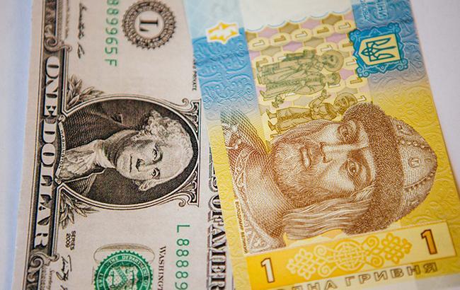 Курс доллара на межбанке упал до 28,05 грн/доллар