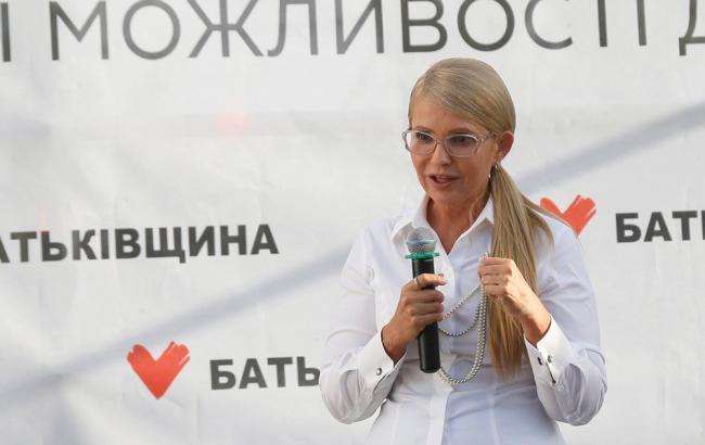 Тимошенко вдвічі випереджає конкурентів у президентських рейтингах
