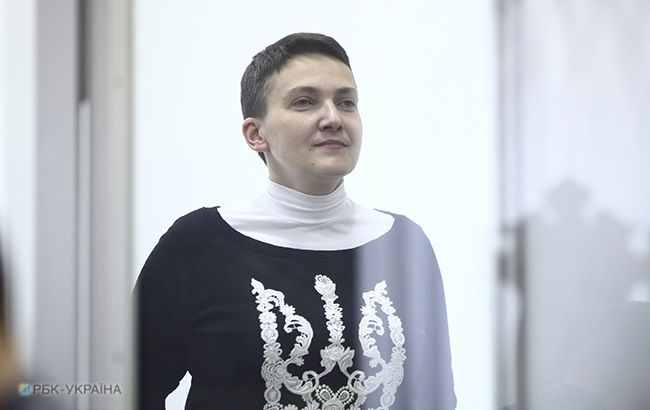 Савченко выпустили из-под стражи