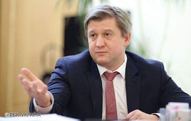 Данилюк анонсировал заседание СНБО по Донбассу