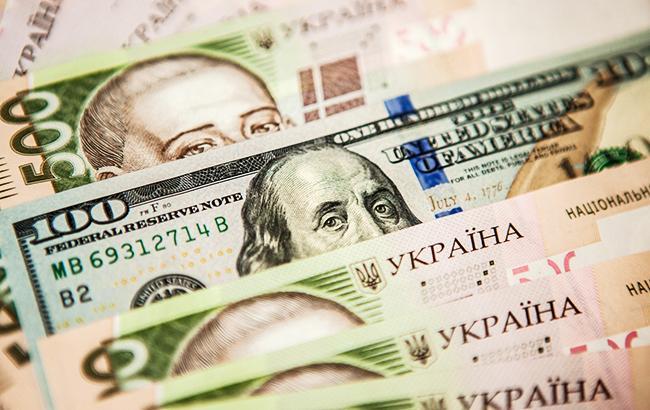 Курс долара на міжбанку на 12:33 знизився до 25,98 гривень/долар