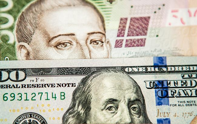 Курс доллара на межбанке снизился до 28,10 грн/доллар
