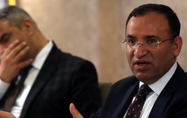 Фото: министр юстиции Турции Бекир Боздаг