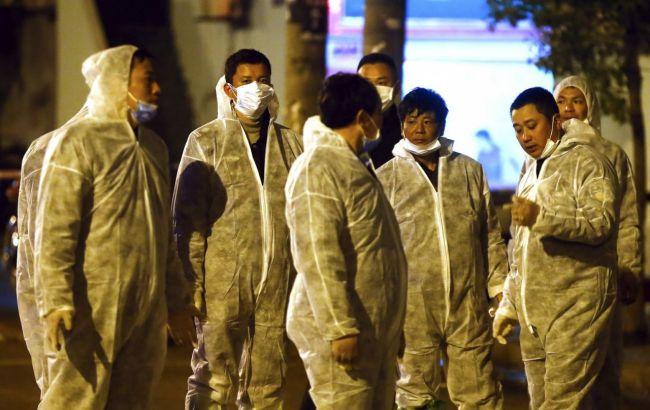 Фото: эпидемия птичьего гриппа в Китае