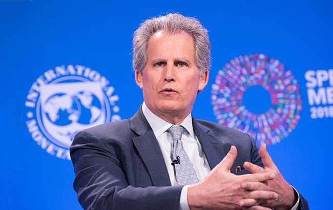 Перший заступник голови МВФ Девід Ліптон: Україна відстає від більшої частини країн Центральної Європи