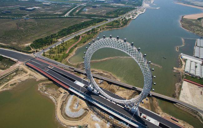Фото: колесо огляду в Китаї
