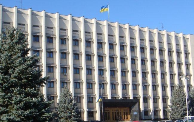 Фото: здание Одесской ОГА также обесточено