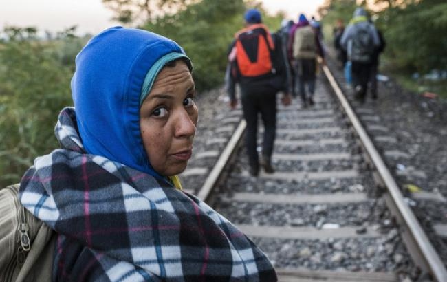 Фото: Беженцы